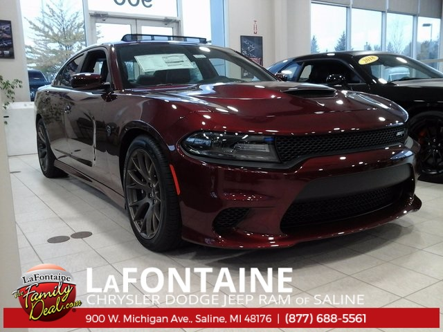New 2018 Dodge Charger Srt Hellcat Sedan In Saline 18s116