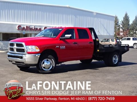 New 2017 RAM 3500 Chassis Cab Crew Cab 4x4